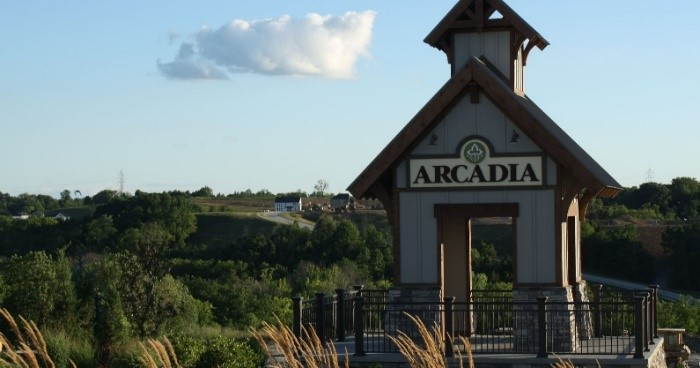 Arcadia by the Drees Co. and Fischer Homes
