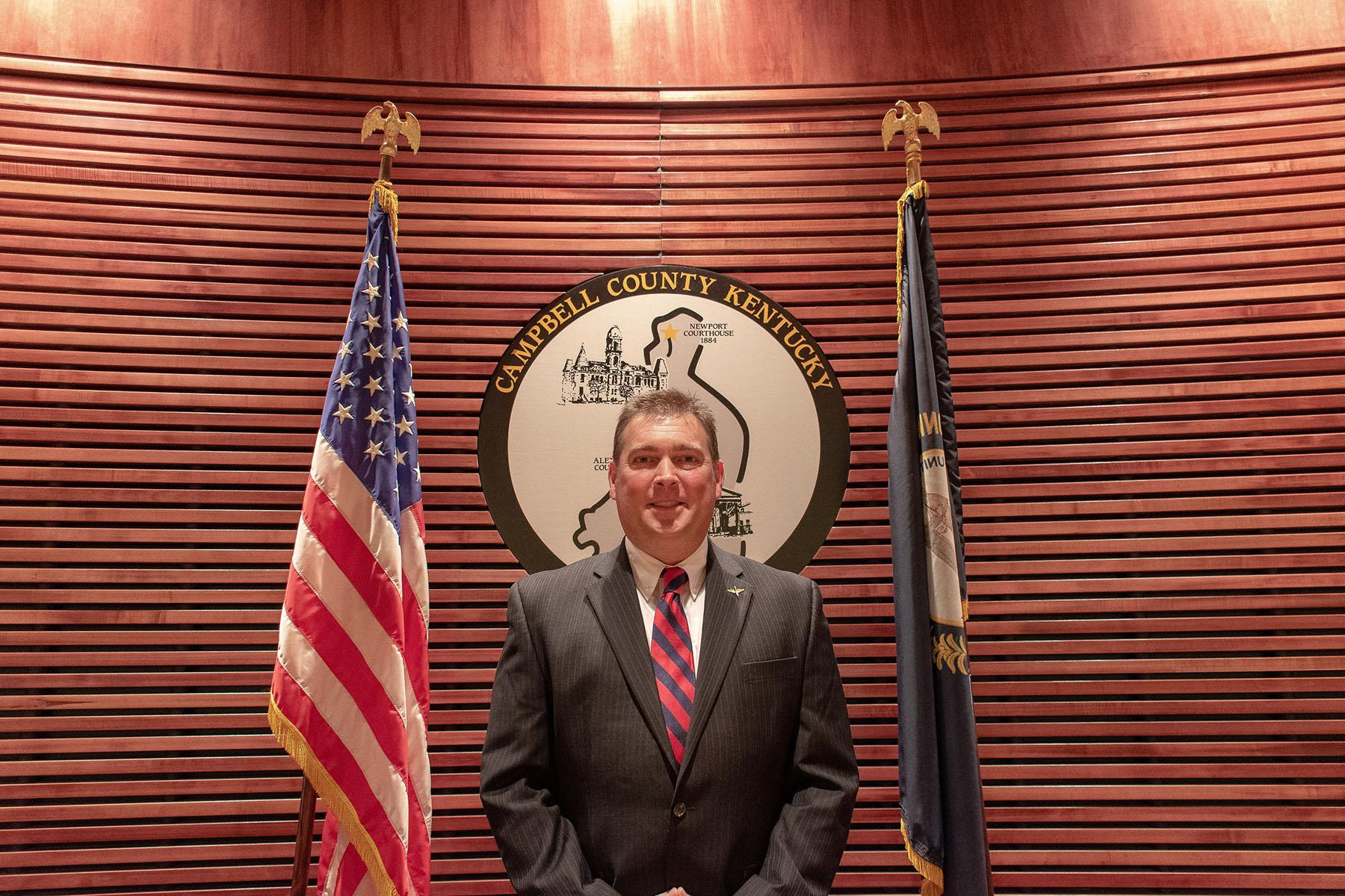 Commissioner Geoff Besecker