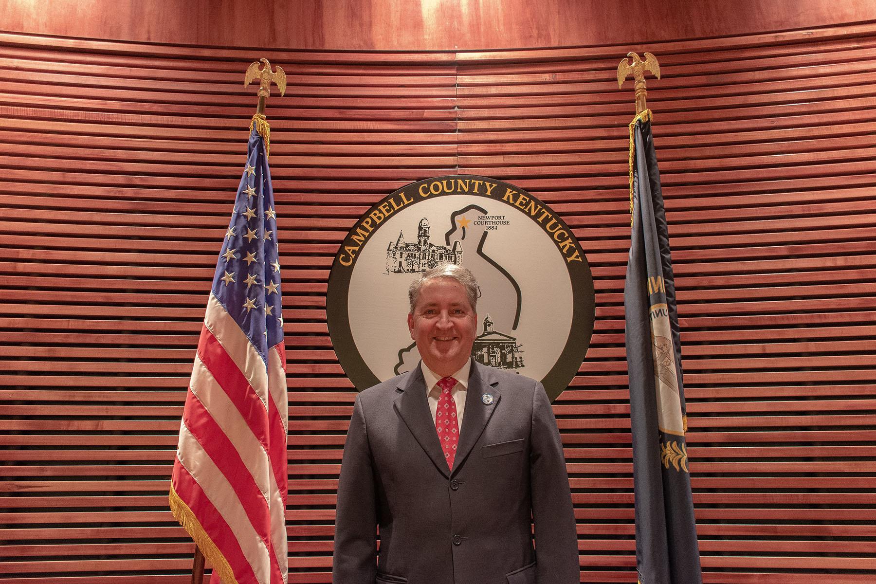 Commissioner Tom Lampe