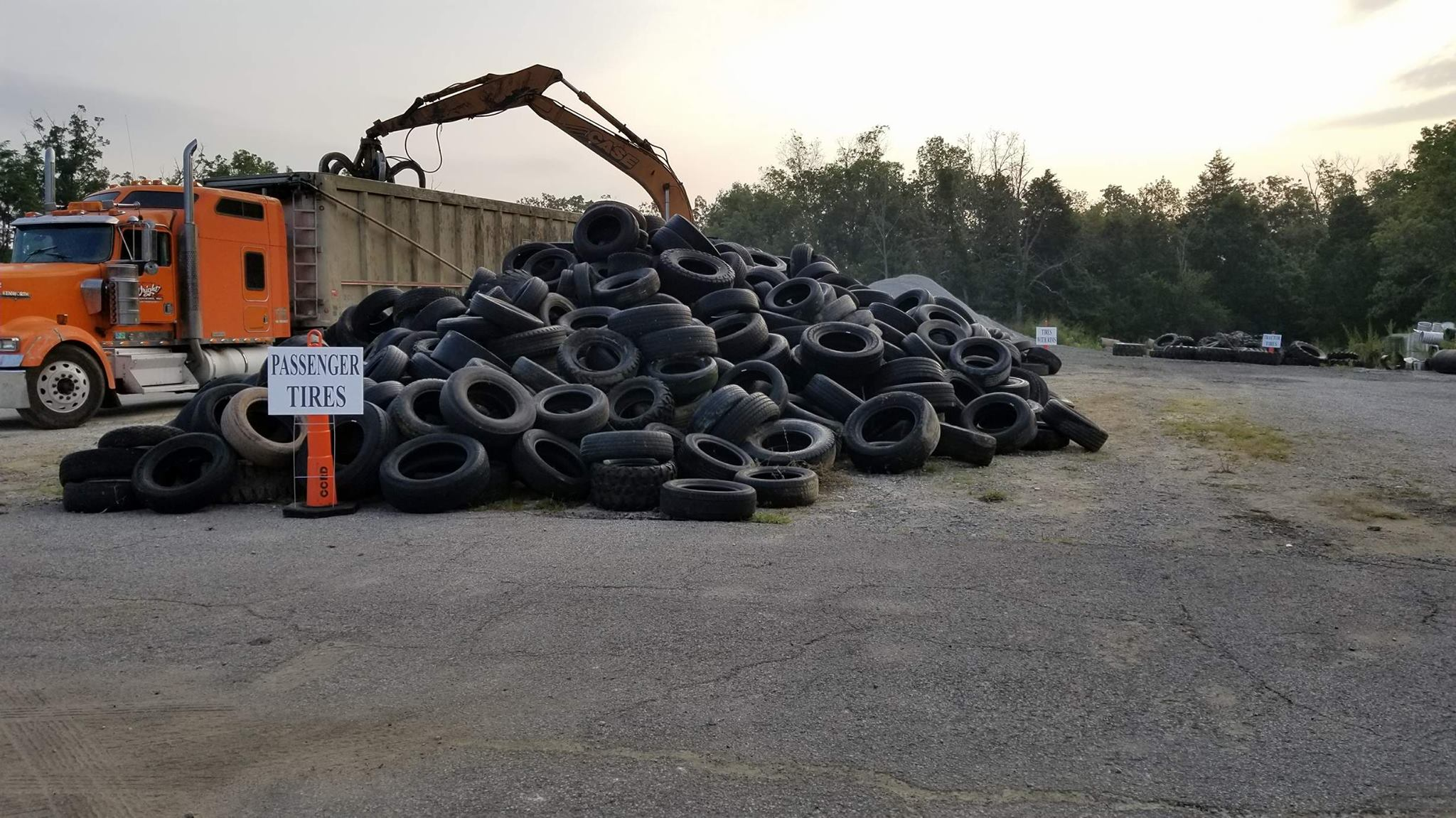 Waste Tire Collection Event